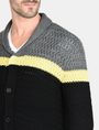 ARMANI EXCHANGE COLORBLOCK SHAWL COLLAR CARDIGAN Layering Man e