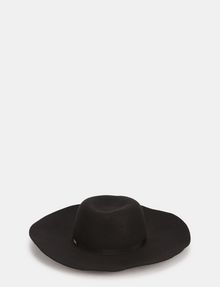 ARMANI EXCHANGE FLOPPY WOOL GROSGRAIN HAT Hat Woman f