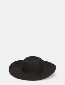 ARMANI EXCHANGE FLOPPY WOOL GROSGRAIN HAT Hat Woman r