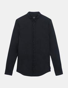 ARMANI EXCHANGE SLIM-FIT GROSGRAIN PLACKET SHIRT Long sleeve shirt Man b