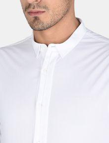 ARMANI EXCHANGE SLIM-FIT GROSGRAIN PLACKET SHIRT Long sleeve shirt Man e