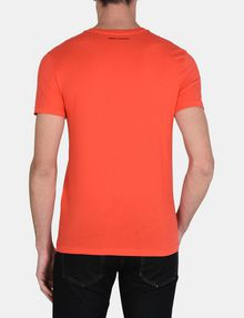 ARMANI EXCHANGE MATRIX LOGO V-NECK Logo T-shirt Man r
