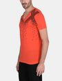 ARMANI EXCHANGE MATRIX LOGO V-NECK Logo T-shirt Man d