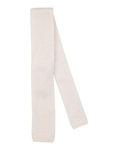 Фото - Мужской галстук  белого цвета