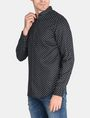 ARMANI EXCHANGE MICRO-PAISLEY PRINT SHIRT Long sleeve shirt Man d