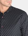 ARMANI EXCHANGE MICRO-PAISLEY PRINT SHIRT Long sleeve shirt Man e