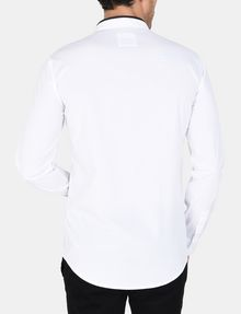 ARMANI EXCHANGE TIPPED COLLAR SHIRT Long sleeve shirt Man r
