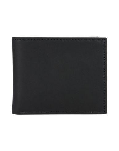 MISMO メンズ 財布 ブラック 牛革 100% BILLFOLD