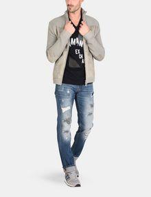 ARMANI EXCHANGE MOD TRIANGLE V-NECK Logo T-shirt Man a
