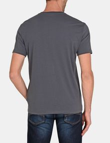 ARMANI EXCHANGE MOD TRIANGLE V-NECK Logo T-shirt Man r