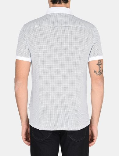 DIAMOND DOT MICROPRINT POLO