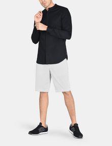 ARMANI EXCHANGE BANDED COLLAR BIB-FRONT SHIRT Long sleeve shirt Man a