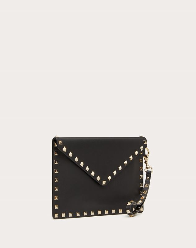 Pouch Rockstud in Vitello