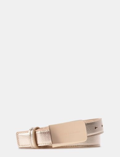 MINIMAL METALLIC BELT