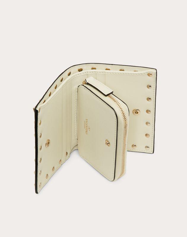 Compact Rockstud Wallet