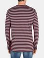 ARMANI EXCHANGE LONG-SLEEVE OVERSIZED STRIPE CREW L/S Knit Top Man r