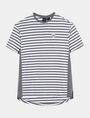 ARMANI EXCHANGE CIRCLE PATCH OVERSIZED CREW S/S Knit Top Man b