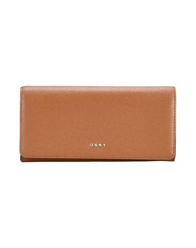 DKNY レディース 財布 キャメル 革