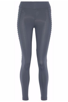 KORAL Cropped paneled stretch leggings