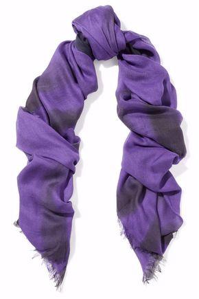 TOMAS MAIER Dégradé modal and silk-blend scarf