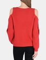ARMANI EXCHANGE COLD SHOULDER CUTOUT SWEATER Pullover Woman r