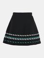 ARMANI EXCHANGE ZIGZAG JACQUARD SWEATER SKIRT Mini skirt Woman b