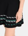 ARMANI EXCHANGE ZIGZAG JACQUARD SWEATER SKIRT Mini skirt Woman e