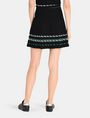 ARMANI EXCHANGE ZIGZAG JACQUARD SWEATER SKIRT Mini skirt Woman r