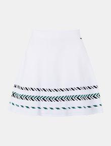 ARMANI EXCHANGE ZIGZAG JACQUARD SWEATER SKIRT Mini skirt Woman b