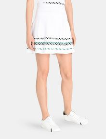 ARMANI EXCHANGE ZIGZAG JACQUARD SWEATER SKIRT Mini skirt Woman d