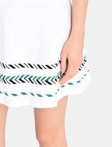 ARMANI EXCHANGE ZIGZAG JACQUARD SWEATER SKIRT Mini skirt Woman e