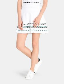 ARMANI EXCHANGE ZIGZAG JACQUARD SWEATER SKIRT Mini skirt Woman f