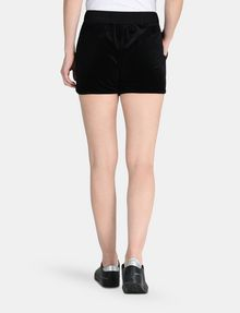 ARMANI EXCHANGE PULL-ON VELVET TRACK SHORT Shorts Woman r
