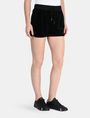 ARMANI EXCHANGE PULL-ON VELVET TRACK SHORT Shorts Woman d
