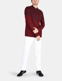 ARMANI EXCHANGE NORDIC INTARSIA CREWNECK SWEATER Pullover Man a