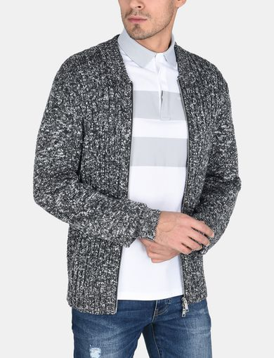 MARLED FULL-ZIP SWEATER