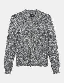ARMANI EXCHANGE MARLED FULL-ZIP SWEATER Layering Man b