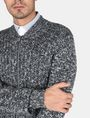 ARMANI EXCHANGE MARLED FULL-ZIP SWEATER Layering Man e
