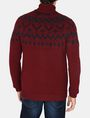 ARMANI EXCHANGE NORDIC INTARSIA FULL-ZIP SWEATER Layering Man r