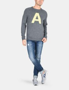 ARMANI EXCHANGE A|X INTARSIA SWEATER Pullover Man a