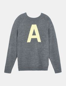 ARMANI EXCHANGE A|X INTARSIA SWEATER Pullover Man b