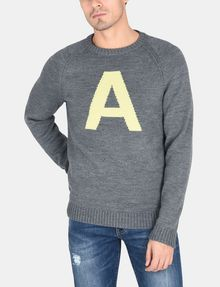 ARMANI EXCHANGE A|X INTARSIA SWEATER Pullover Man f