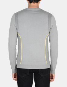 ARMANI EXCHANGE REFLECTIVE PRINT CREWNECK SWEATER Pullover Man r