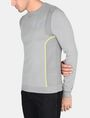 ARMANI EXCHANGE REFLECTIVE PRINT CREWNECK SWEATER Pullover Man d