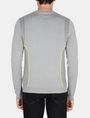 ARMANI EXCHANGE REFLECTIVE PRINT CREWNECK SWEATER Pullover Man r
