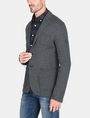 ARMANI EXCHANGE KNIT 3-POCKET BLAZER Fleece Jacket Man d
