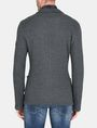 ARMANI EXCHANGE KNIT 3-POCKET BLAZER Fleece Jacket Man r
