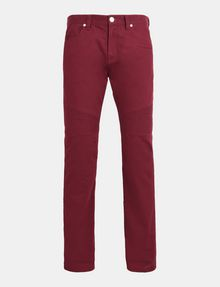 ARMANI EXCHANGE SLIM-FIT MOTO ACCENT PANT Slim fit JEANS Man b