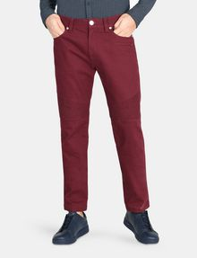 ARMANI EXCHANGE SLIM-FIT MOTO ACCENT PANT Slim fit JEANS Man f