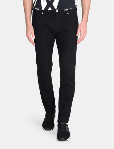 SLIM-FIT MOTO ACCENT PANT